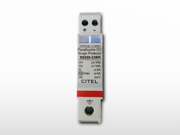 Parafoudre CITEL DC (courant continu) DS240-220DC