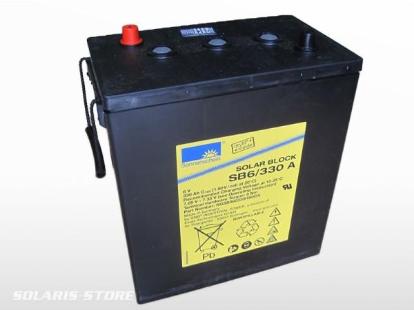 Batterie solaire gel SONNENSCHEIN SOLAR BLOCK SB 6/200 A