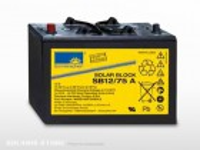 Batterie solaire gel SONNENSCHEIN SB12/ 60A | 12V - 60Ah