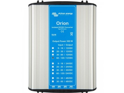 Convertisseurs Orion CC-CC isolés  modèles de 360 W et spéciaux créés à des fins spécifiques Victron Victron