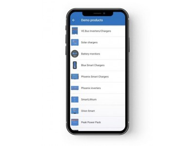 Application VictronConnect Victron Victron