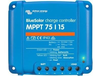 BlueSolar MPPT 75_10  75_15  100_15 et 100_20 Victron Victron