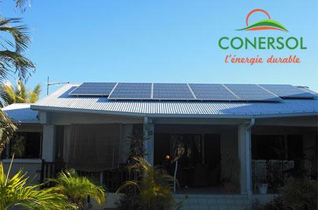 énergie solaire autonome à La Réunion