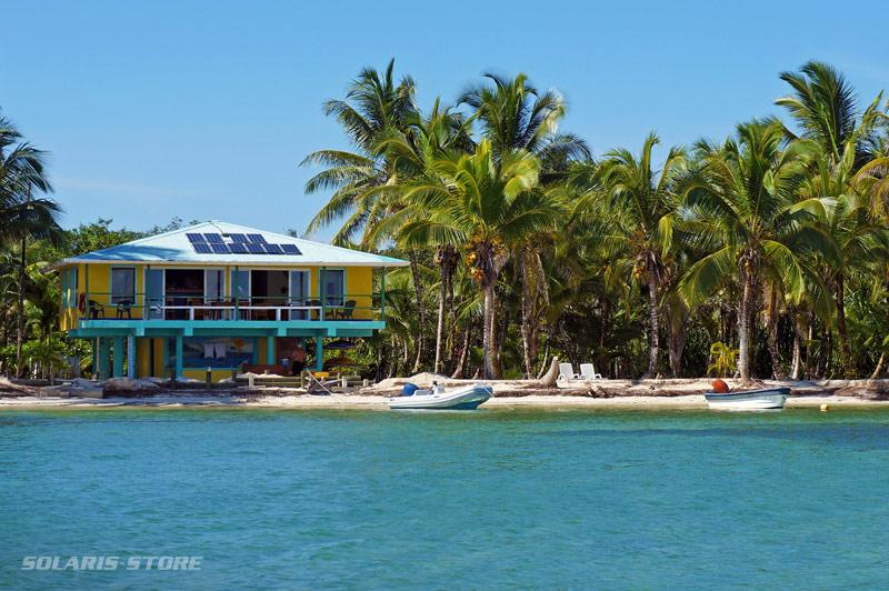 énergie solaire autonome en Polynésie Franà?aise