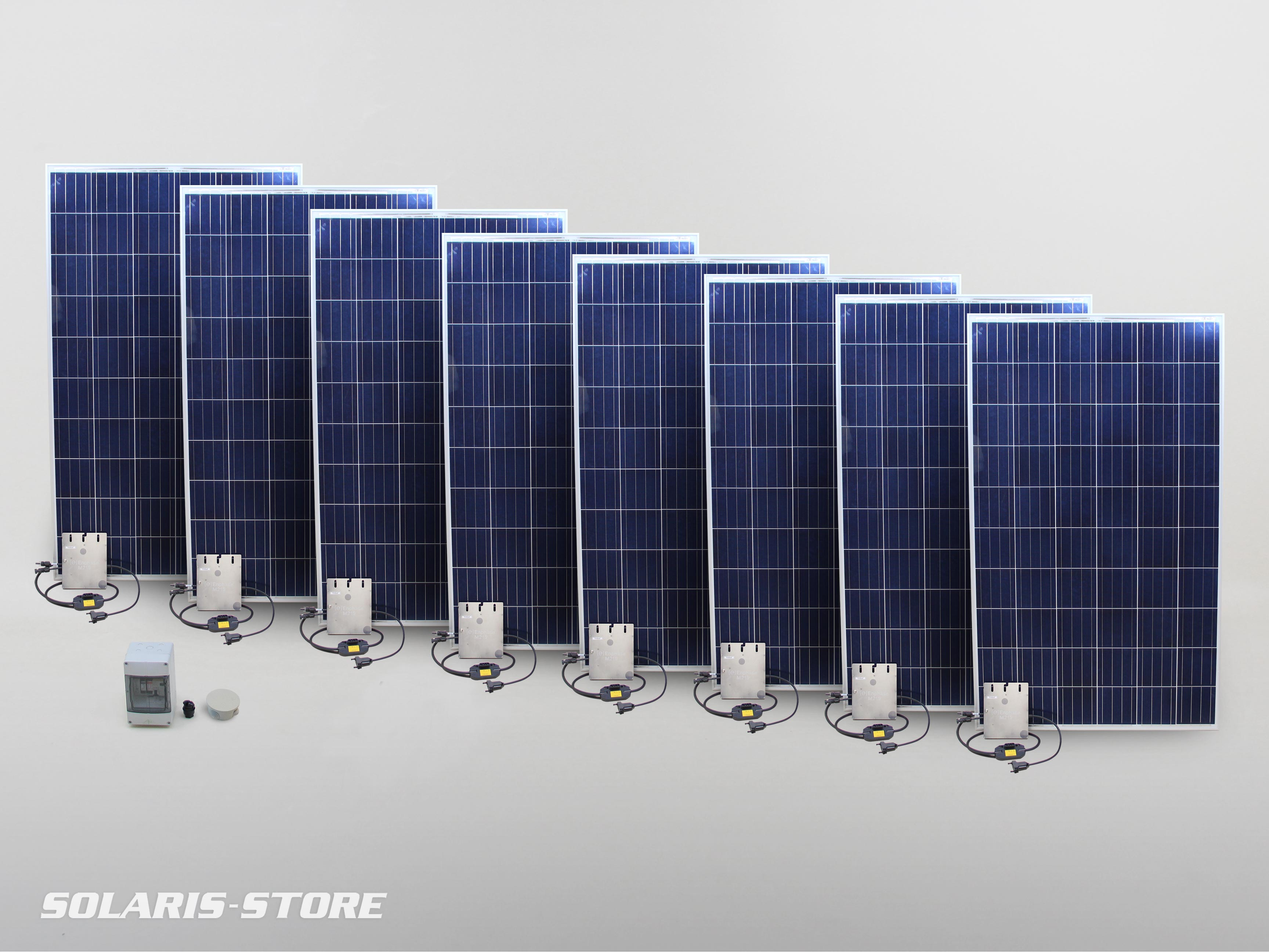 kit solaire autoconsommation 2240w 2280wc 230v solaris store. Black Bedroom Furniture Sets. Home Design Ideas