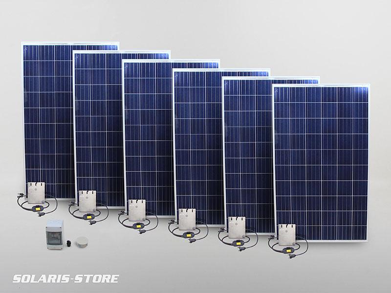 Kit panneau solaire 1500W en autoconsommation