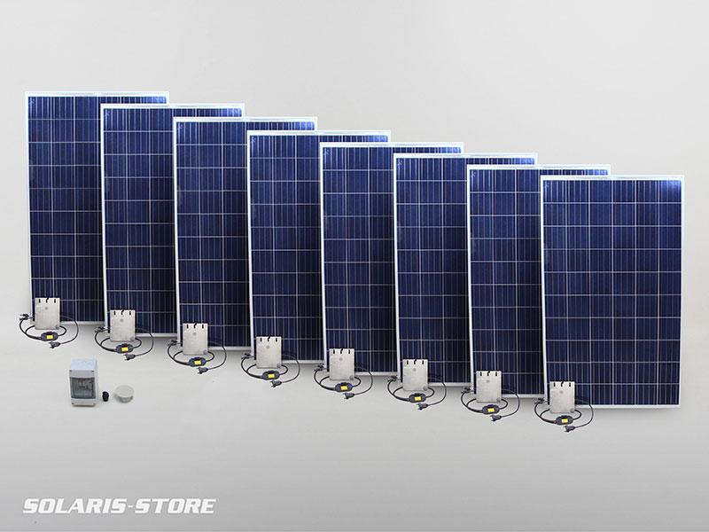 Kit panneau solaire 2000W en autoconsommation