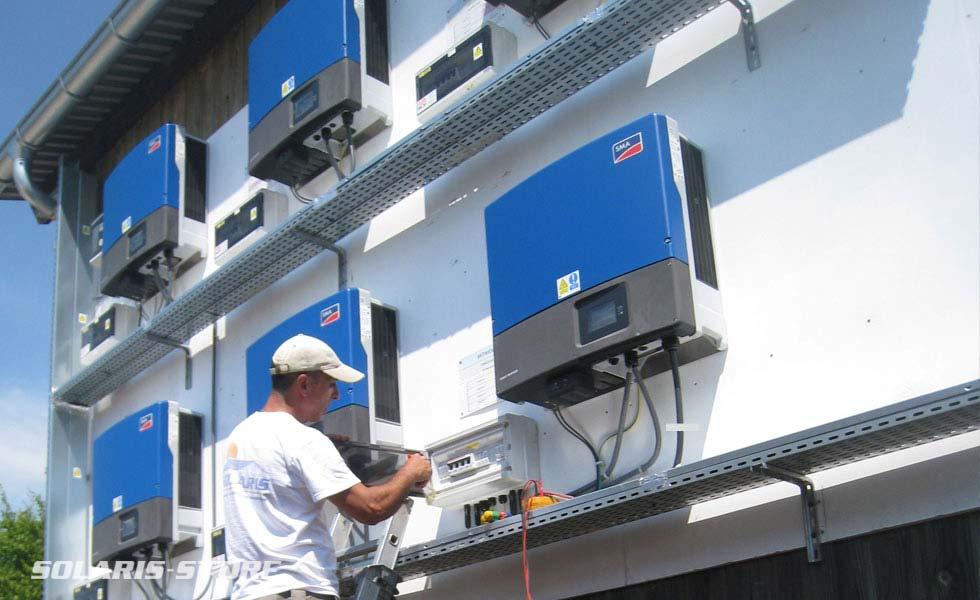 Maintenance et dépannage de centrales photovoltaïque
