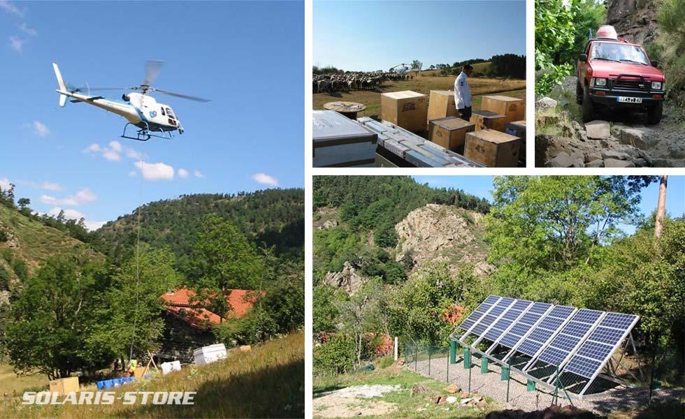 Spécialiste de l'énergie solaire en site isolé