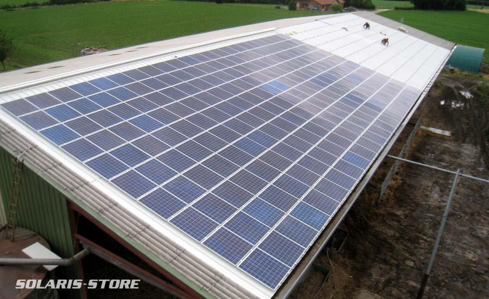 Vente de panneaux matériel solaire pour tout types d'installation