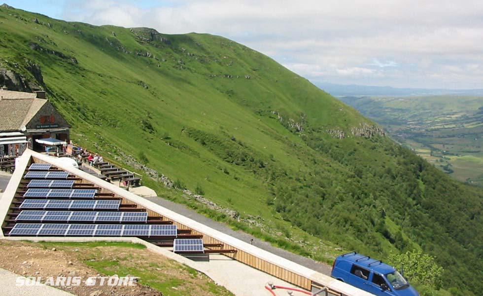 Conception de générateur solaire pour des sites loin du réseau ERDF