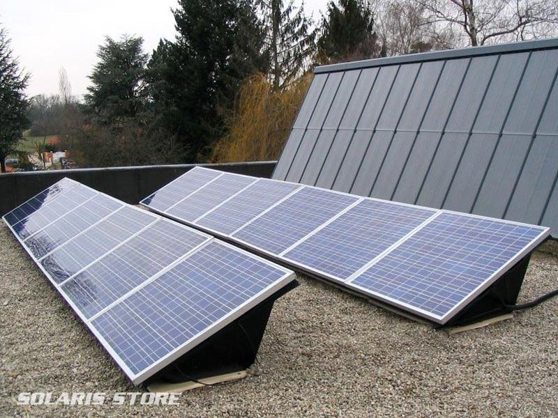 Isère (38) / Centrale solaire sur toiture terrasse en autoconsommation