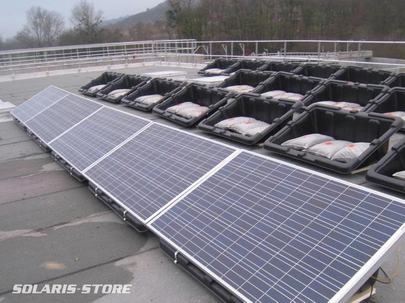 Isère (38) / Pose de paneaux solaires sur Bac Console