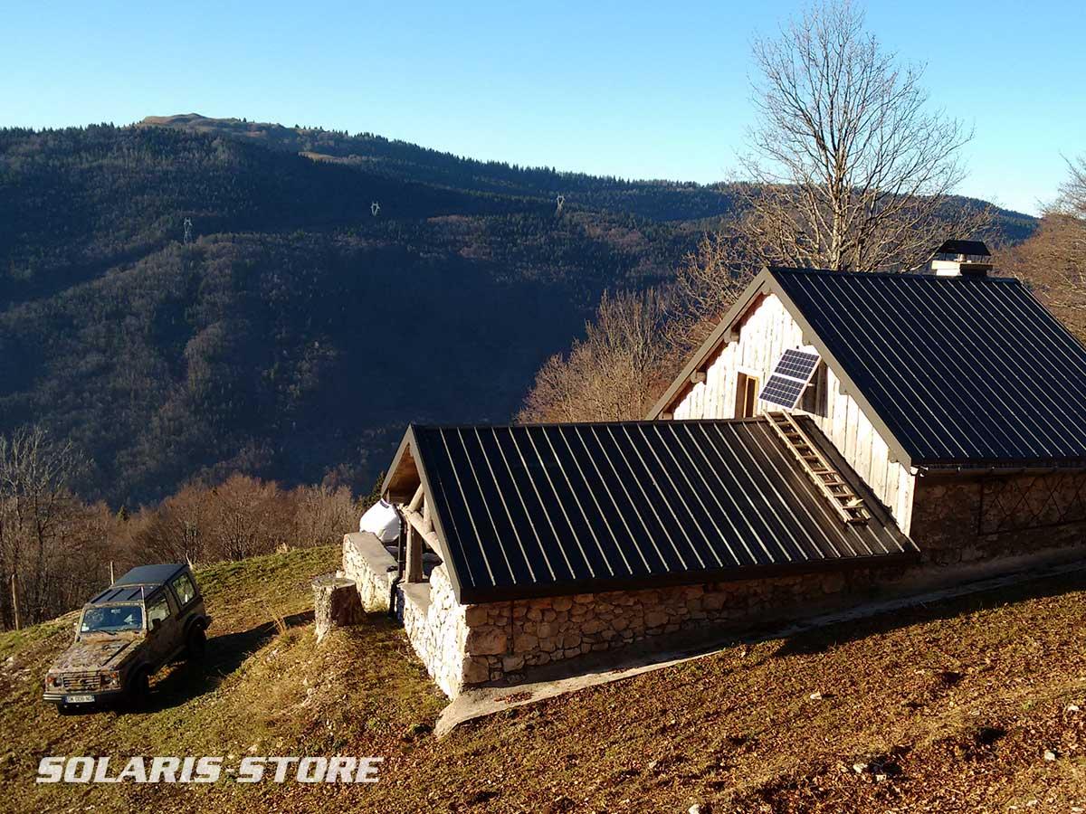 Ain (01) / Kit panneau solaire pour gite à proximité du parc naturel du Haut Jura