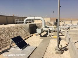 Mise en service du kit de sécurisation solaire au sein de l'usine