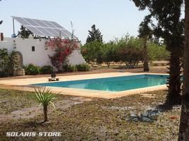 Kit solaire de forte puissance pour maison et piscine au portugal