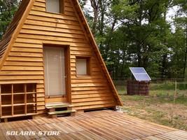 Installation d'un kit solaire pour alimenter une chambre d hôte écologique en totale autonomie