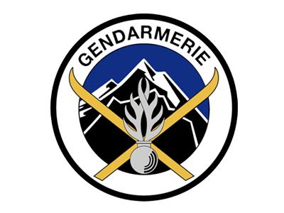 Logo PGHM, Unités de montagne de la Gendarmerie nationale