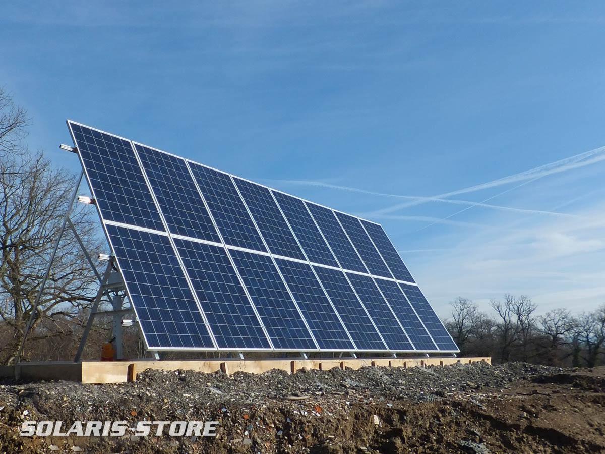 Pays de Gex (01) / 4200 Wc de panneaux solaires sur un site de traitement de déchets