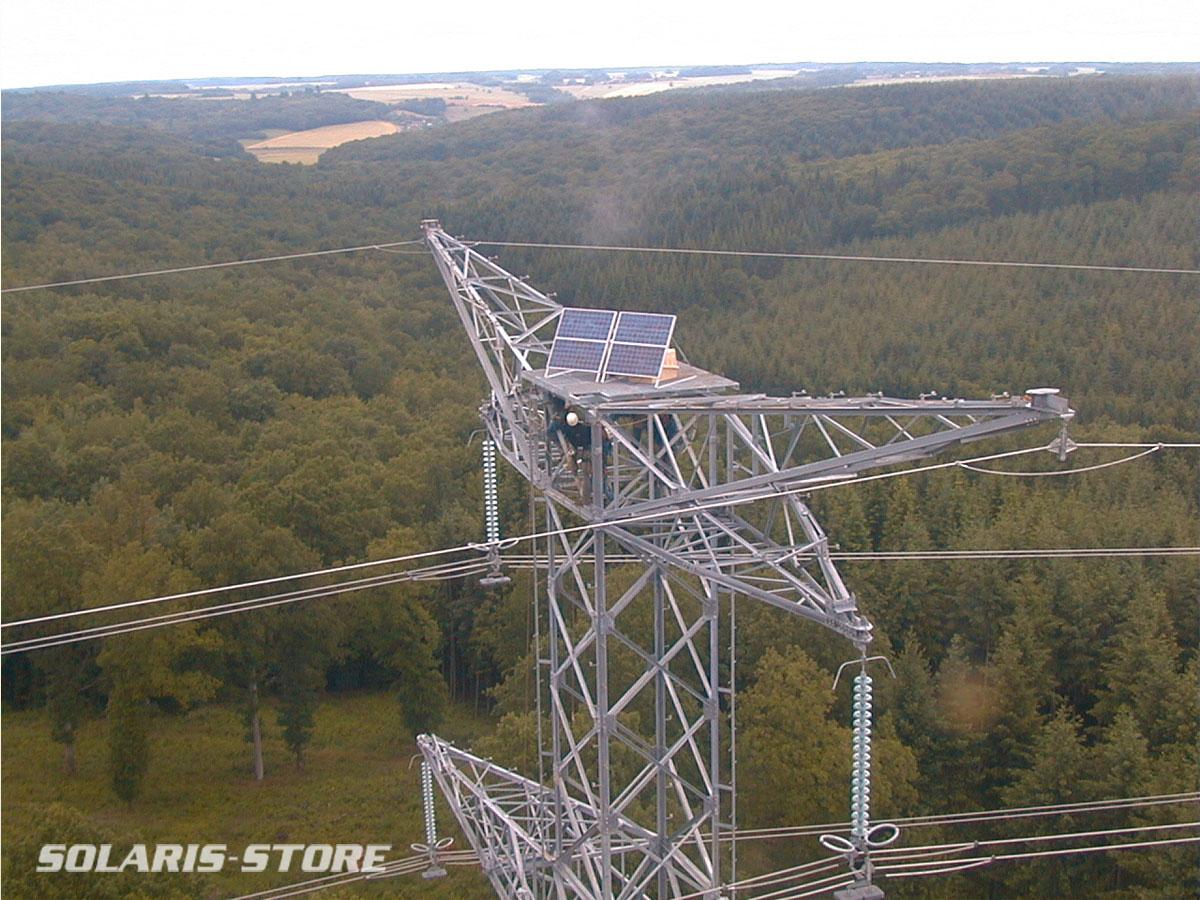 Yonne (89) / Kit solaire pour balisage aérien sur pylone haute tension