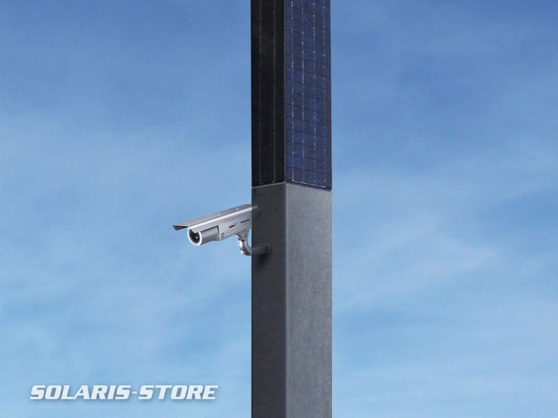 développement de système de vidéo surveillance à énergie solaire pour les chantiers