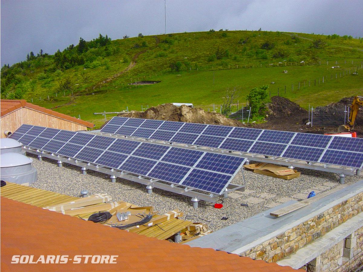 Loire (42) / Installation solaire au Col du Béal