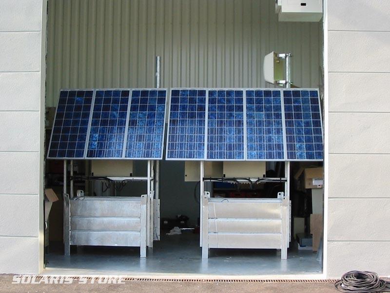Ain (01) / Générateurs solaires autonomes de 255Wc et 340Wc pour relais Telecom Motorola
