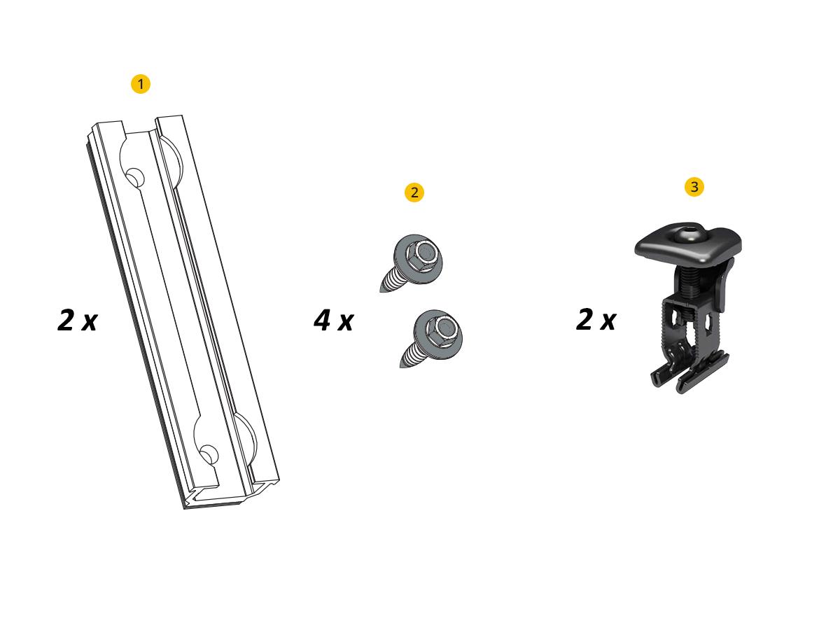 Composition de la fixation toiture bac acier RENUSOL