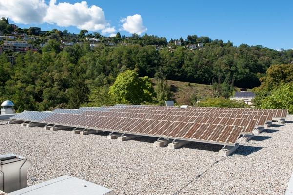 Installation solaire pionnière en Suisse, étude sur la durée de vie des panneaux
