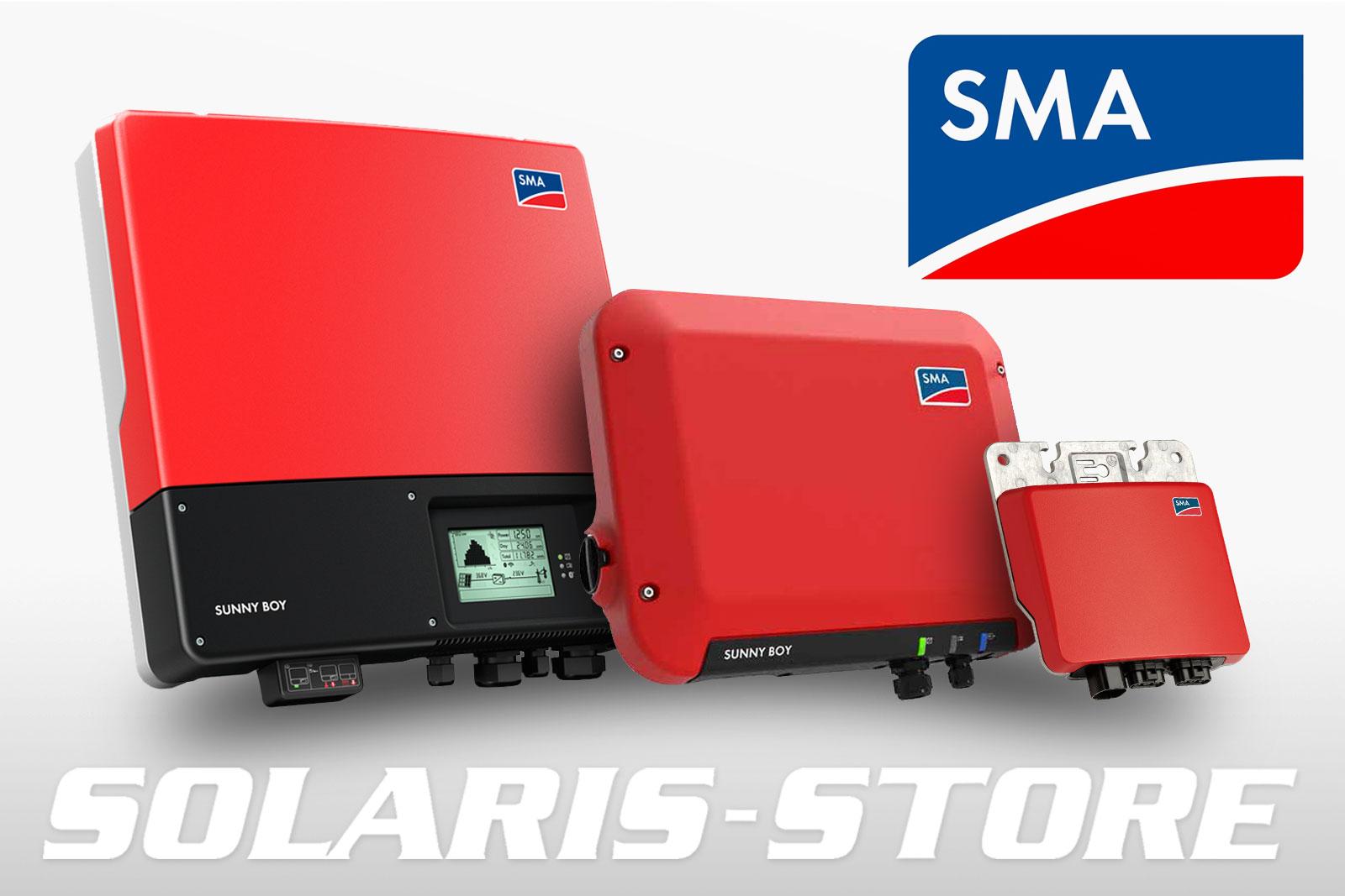 Onduleur réseau & micro onduleur solaire SMA pour