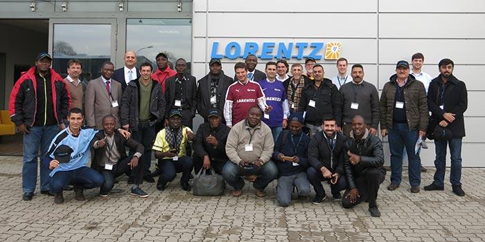 Formation pompe solaire Lorentz
