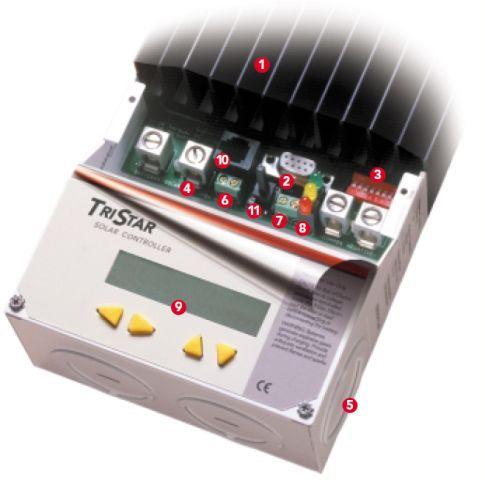regulateur solaire morningstar 60A